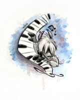 The great pianist by Kallica