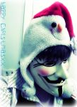 V For Vendetta-Christmas Spirit by IoniaFreak