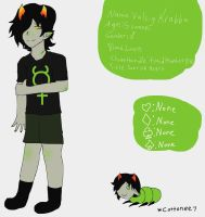 KarNep Love Child Reference (OPEN QUADRANTS) by Cottonee7