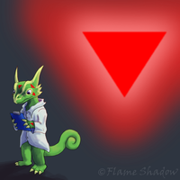 90. Triangle by Flame-Shadow