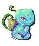 #001 Bulbasaur by Iffy-Jiffy