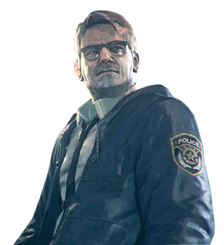 Arkham Knight - Commissioner Gordon Render by Spider-Man91
