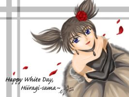 Kurumi's White Day Greeting by kurohiko