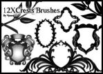 crests brushes by visualjenna