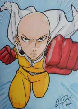 One Puuuuuunch! ACEO by LadyNin-Chan