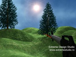 3D Shooter Movie in 3D Max by eds-danny