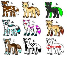 Cheap Point Adoptables by Xtreme-Adopts