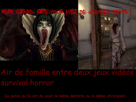 Similarities horror video game by Louwky