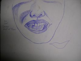 Zoo Siab! Lower Half of Face by InsanePaintStripes