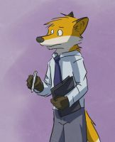 Business Fox by LeeyFox