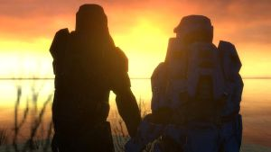 Outpost Sunset by DooMGuy117