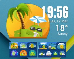 Android Life HD for xwidget by jimking