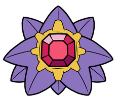 Starmie Pokedoll Art by methuselah-alchemist
