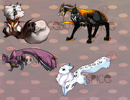 Adoptable Auction (CLOSED) by BloodnSpice