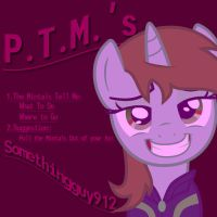 PTM's (Poem Cover) by Somethingguy912