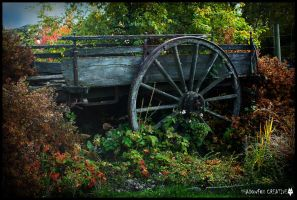 Old Wagon by shadowfoxcreative