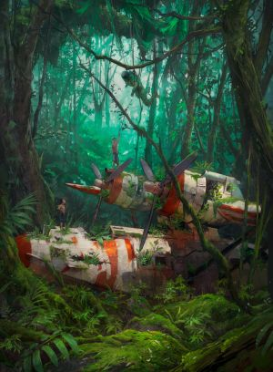 Jungle by Besar13