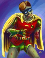 Zombie Robin by chrismoet