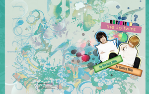 BOYFRIEND - Jo Twins Wallpaper by ciael