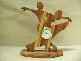 Ballroom Desk Clock (Yasha w/ New York style base) by ichtheria