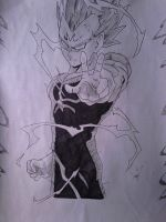 majin vegeta  #2 by shadowvid55