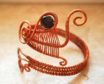 Copper bracelet by yuhime