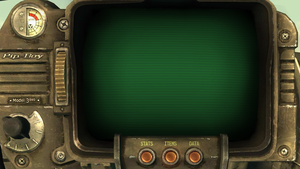 Fallout Pipboy Wallpaper by IanMelbourne93
