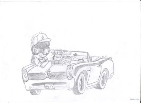 me  and my pontiac by theo46