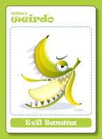Arthim's Weirdo - Evil Banana by timwork