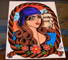 Pirate Babe by Jlynntaylorart