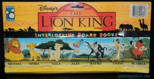 Lion King Interlocking Board Book Puzzle by LionKingForLife