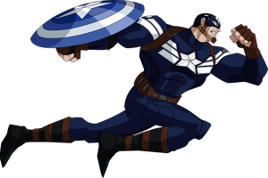 Captain America TWS (AEMH Style) by OWC478