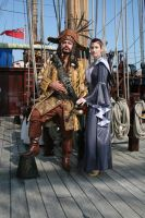Pirate on board with captive by overlord-costume-art