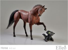 Horse bjd doll 08 by leo3dmodels