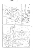 Sonic x #40 pg 19 by Dhutchison