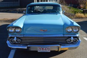 1958 Chevrolet Impala Convertible II by Brooklyn47