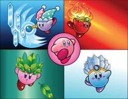 Vector Compilation: Kirby by DPghoastmaniac2