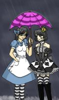 An umbrella for Lani by OhhSugar