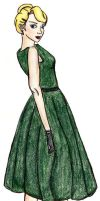Devil In a Green Dress by devinette