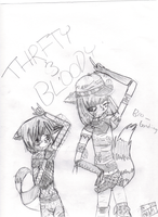 HTF Thrifty Bloody Go Punk: AT by tayuya-demonic-flute