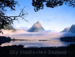 New Zealand South CALENDAR by kevinskystudio