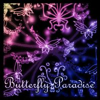 Butterfly Paradise PS7 Brushes by Sunira