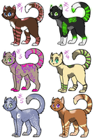 .:Adopts:. by oOCupcakeOo