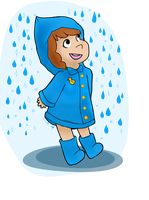 alice's raincoat by fishbowlspace