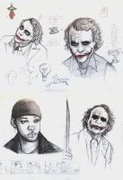 joker doodles 05 by rockedgirl