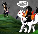 Itachi's Victory 2 by ToonTwins