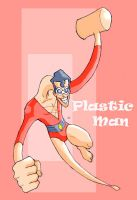Plastic Man by jdcunard