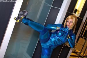 Katsucon 2015 - Zerosuit Samus(PS) 09 by VideoGameStupid