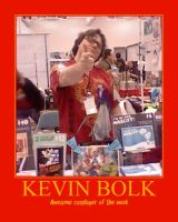 Awesome Cosplayer: Kevin Bolk by MasterRBG