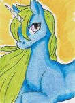 ACEO - Unicorn by purenightshade